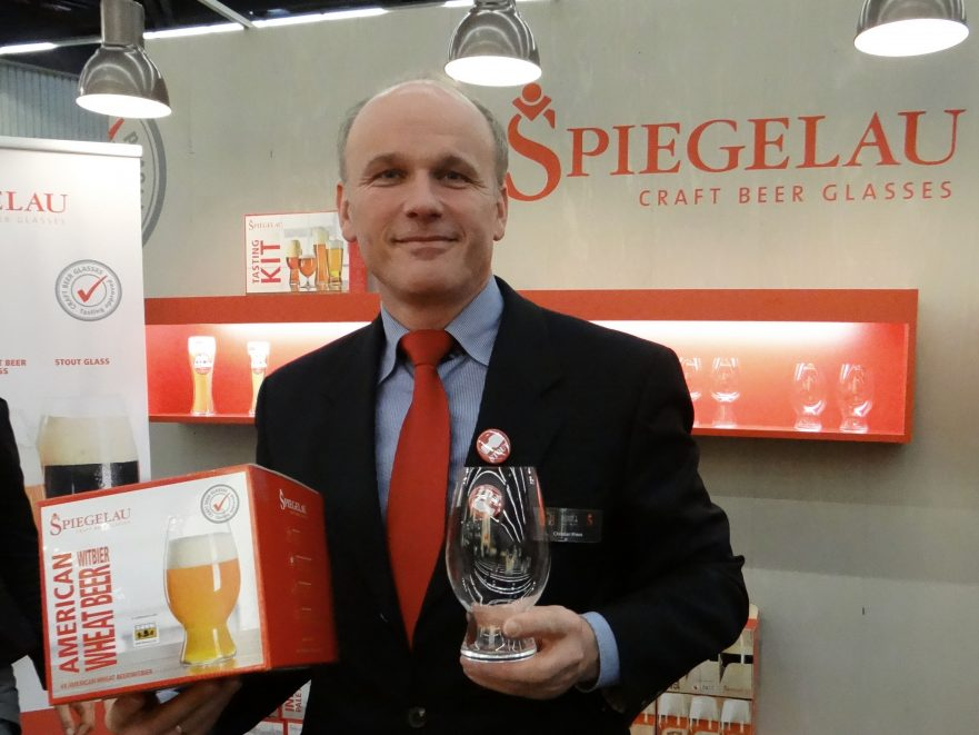 Craft Beer Bierglas Spiegelau Christian Kraus
