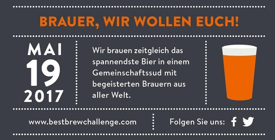 Best Brew Challenge 2017 - An die Kessel, Brauer!