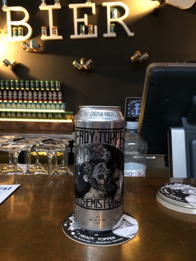 Heady Topper Craft Beer