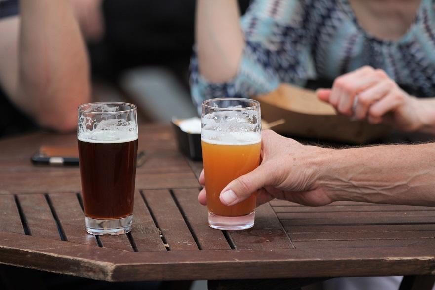 Lager und Ale Biere
