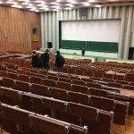 Ausbildung mit Bier Hörsaal TU Berlin