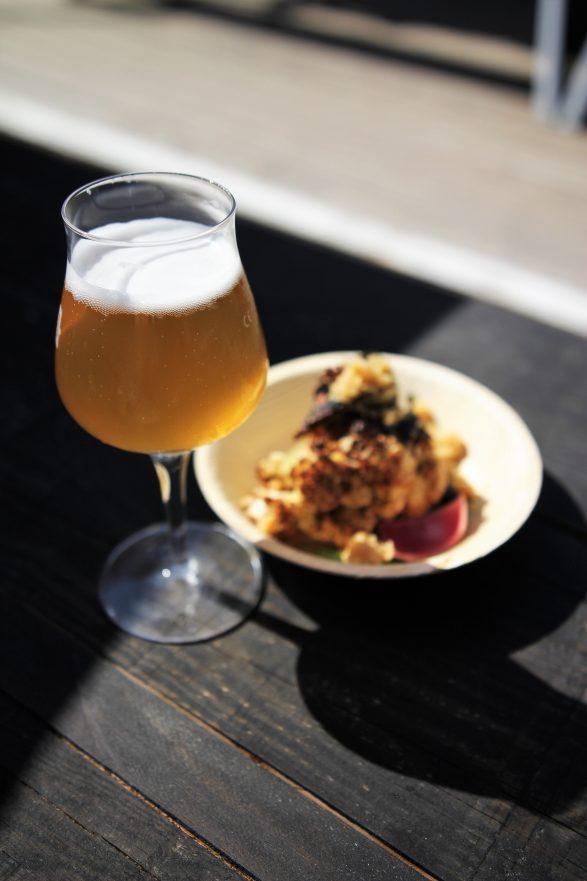 Bier und Essen