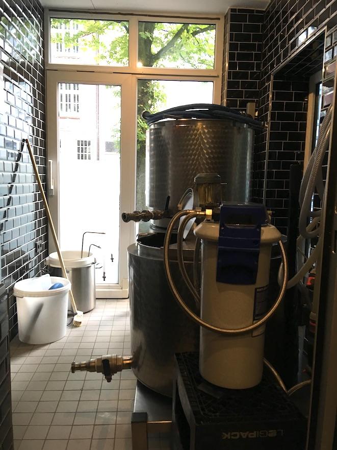 Brauanlage Finne Brauerei