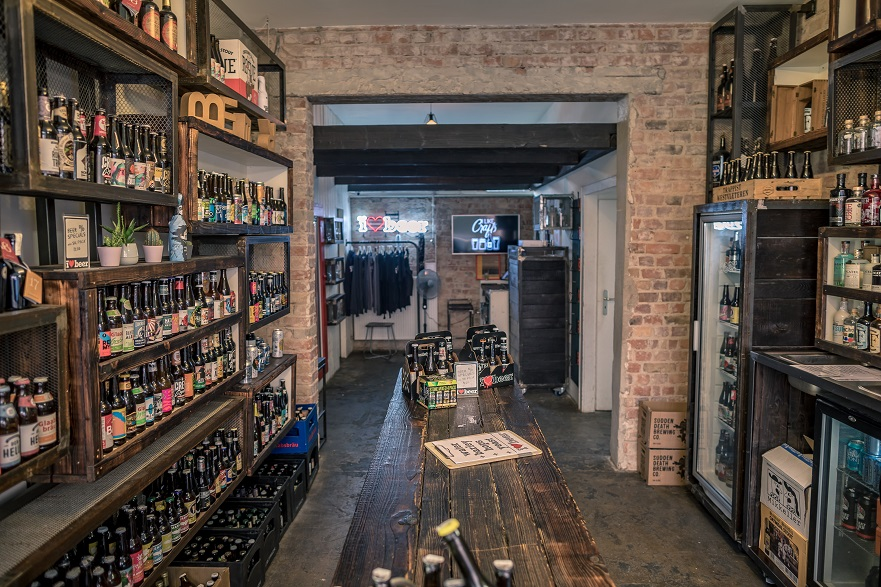 craft beer shops in Frankfurt
